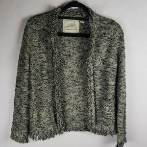 ANTHROPOLOGIE Angel of the North Open Cardigan